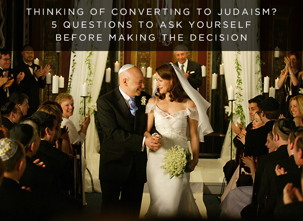 CONVERTING TO JUDAISM