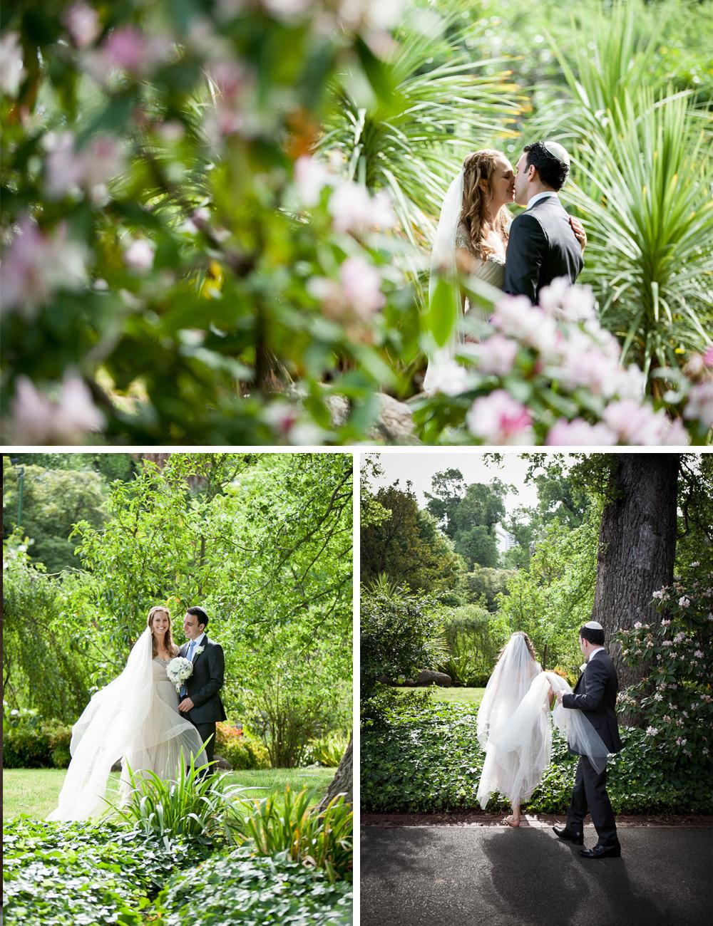 Jewish wedding Melbourne University and Luminare B