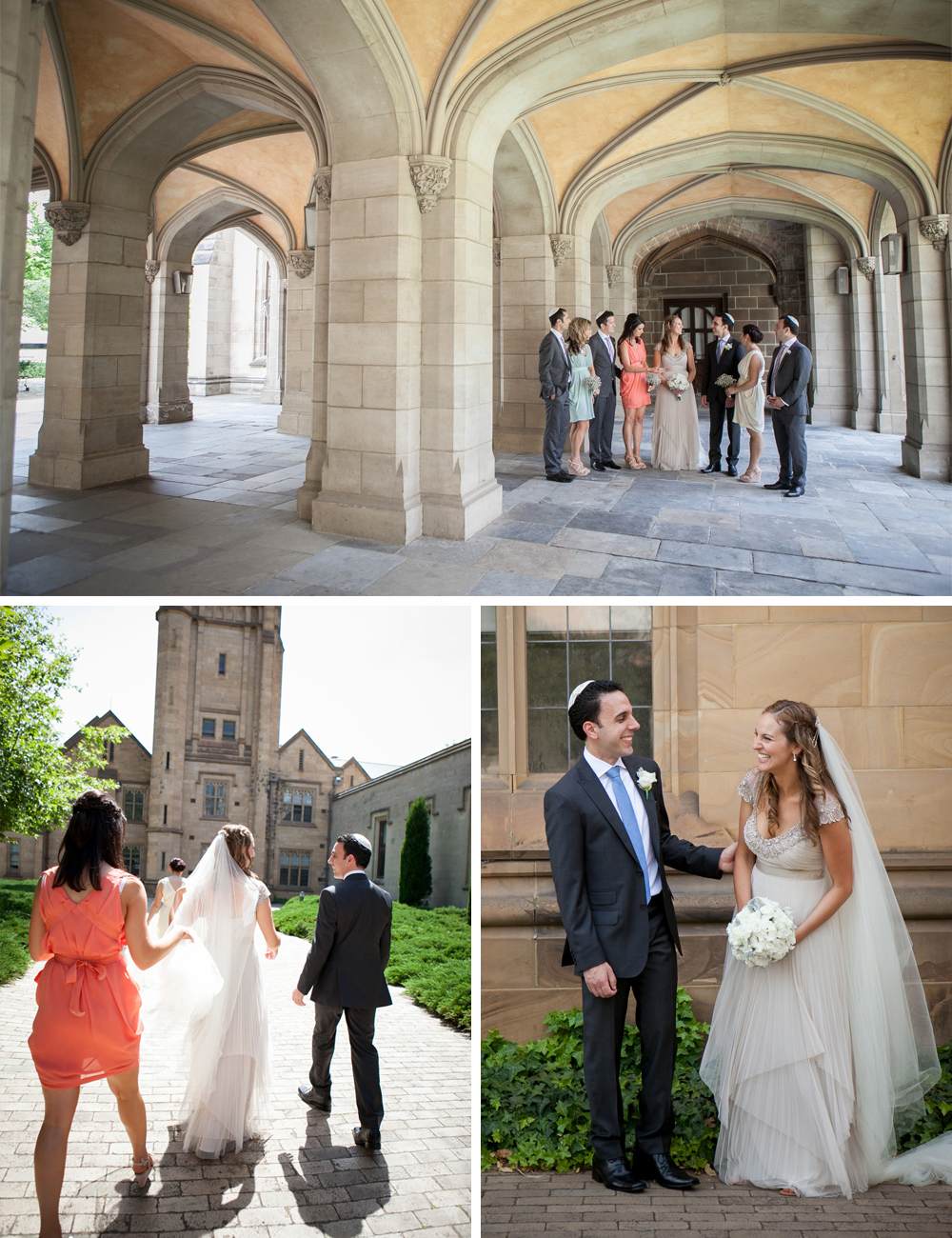 Jewish wedding Melbourne University and Luminare