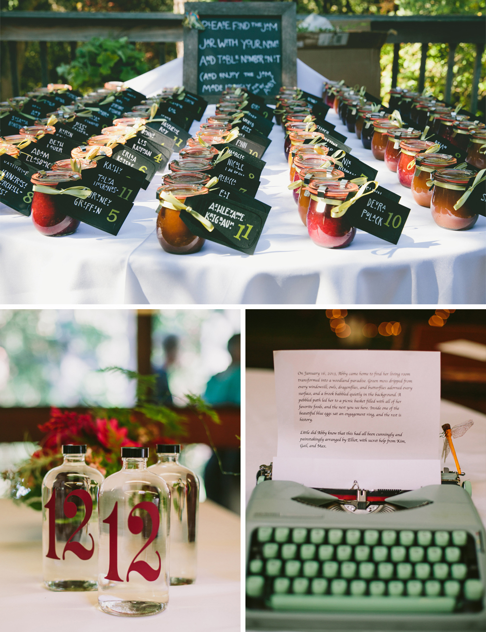 DIY Woodland wedding