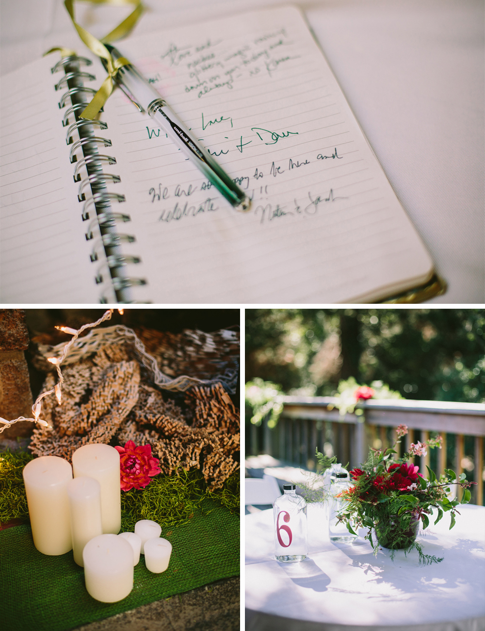 DIY Woodland wedding 3