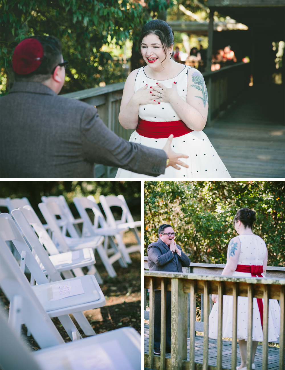 DIY Woodland wedding 4