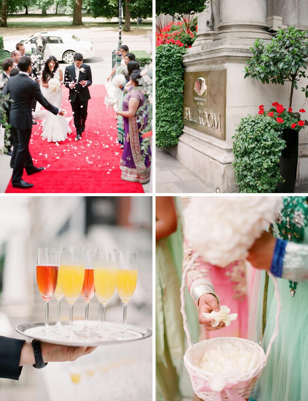Jewish Hindu multi cultural wedding at the Mandarin Oriental London 3