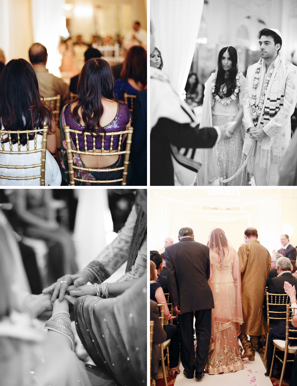 Jewish Hindu multi cultural wedding at the Mandarin Oriental London