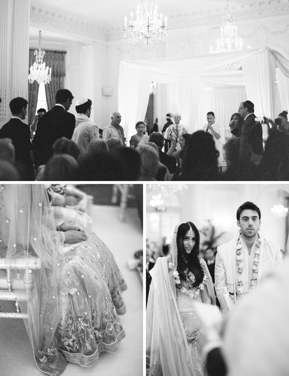 Jewish Hindu multi cultural wedding at the Mandarin Oriental London 9