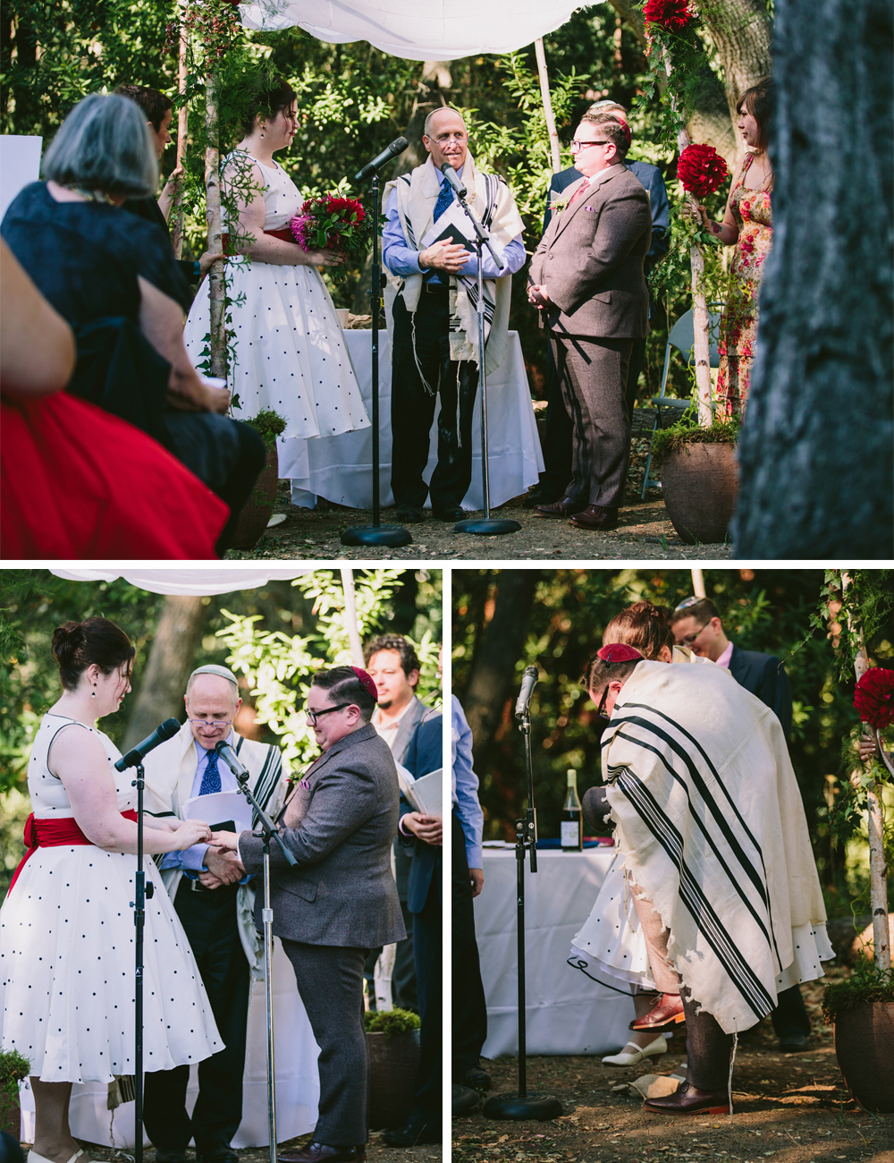 jewish woodland wedding