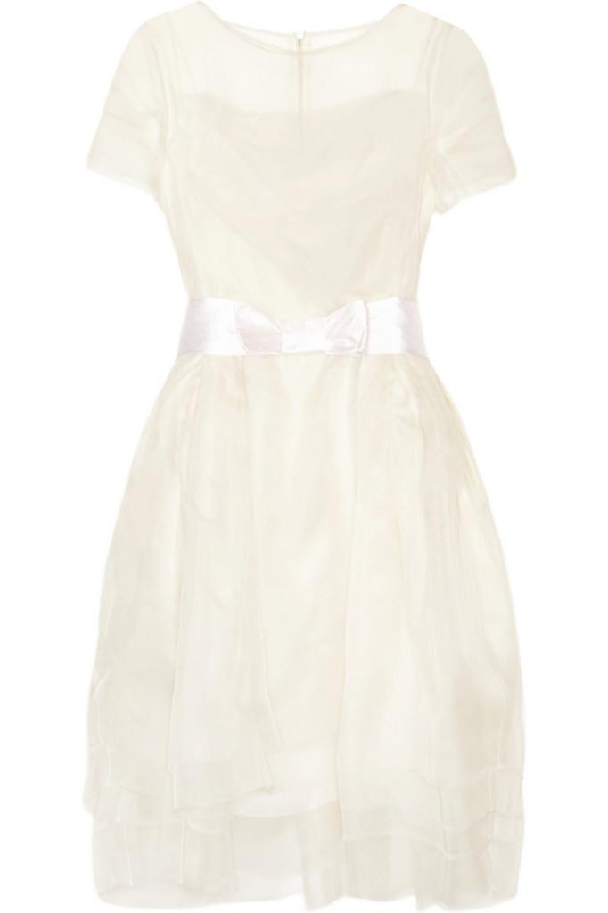 LANVIN Layered silk-organza dress £2870