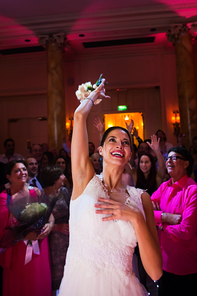 Super Luxe City Chic Jewish Wedding at The Waldorf, Aldwych,London