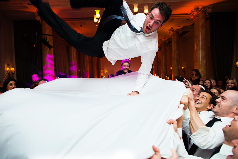 Super Luxe City Chic Jewish Wedding at The Waldorf, Aldwych,London 30