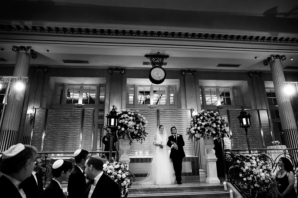 Super Luxe City Chic Jewish Wedding at The Waldorf, Aldwych,London 47