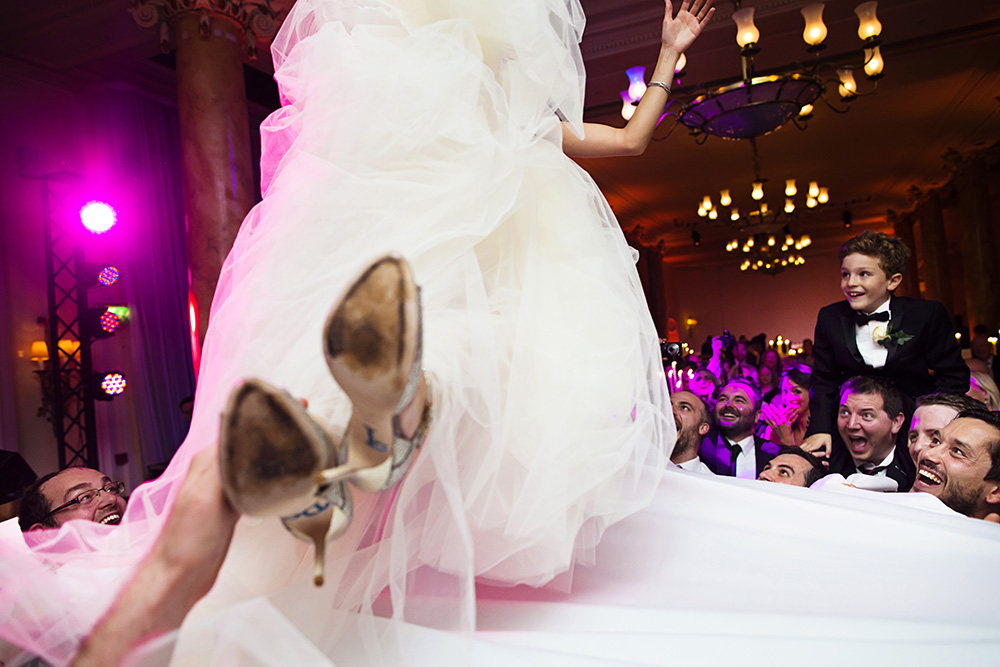 Super Luxe City Chic Jewish Wedding at The Waldorf, Aldwych,London 5