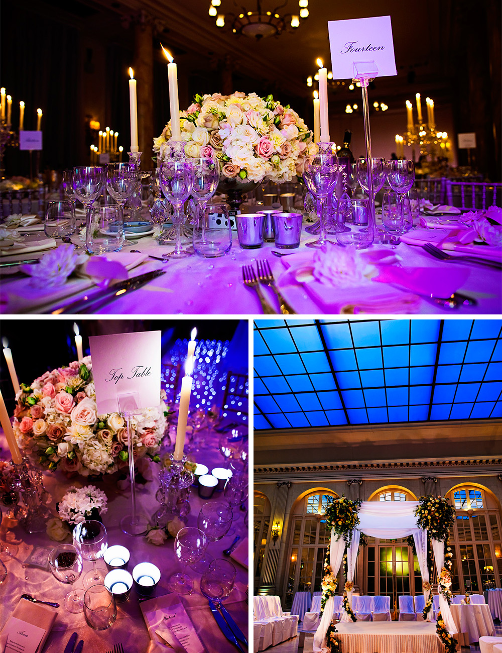 Super Luxe City Chic Jewish Wedding at The Waldorf, Aldwych,London A