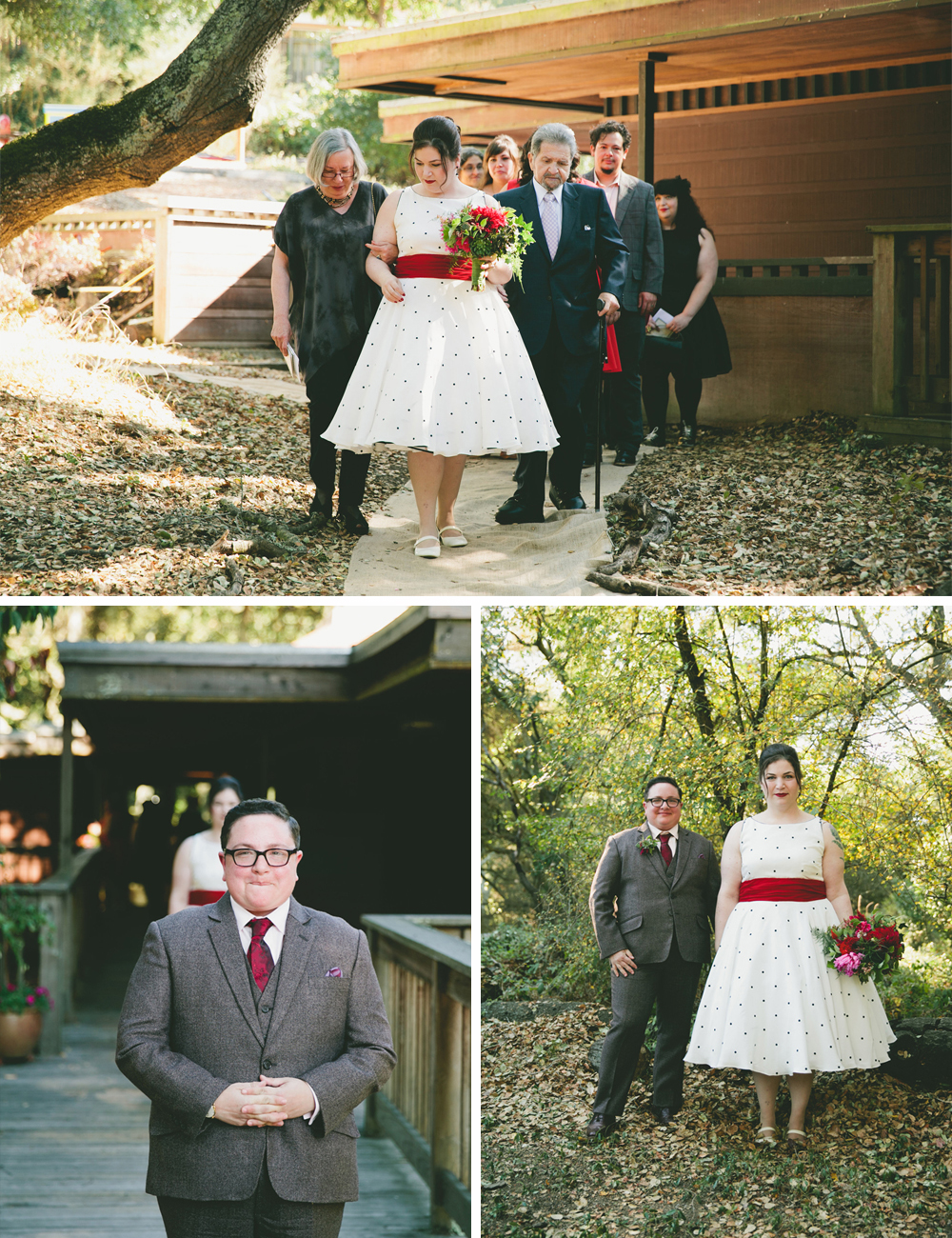 Woodland wedding 75