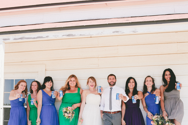 Fun Jewish Wedding at Santa Margarita Ranch California