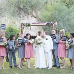 Kathleen & Liz | Super-stunning music-themed lesbian Jewish wedding at Casa Cody, Palm Springs CA