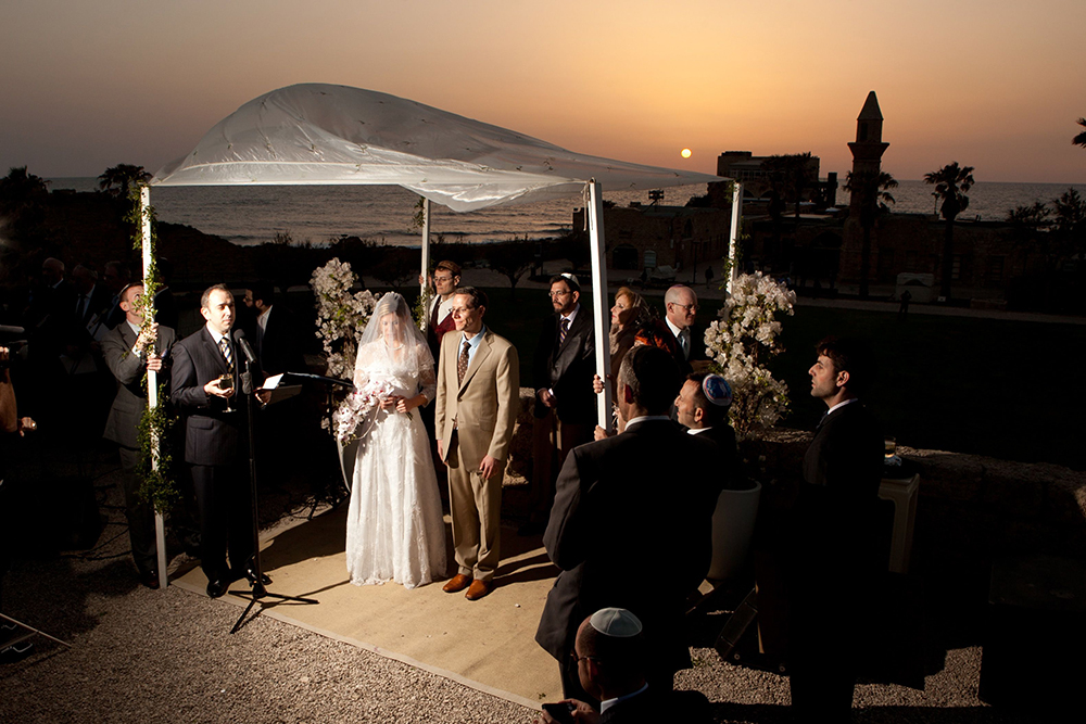Simon Cohen Caeserea Wedding