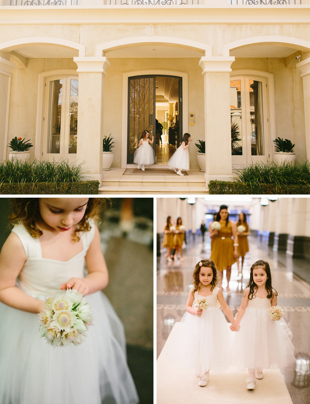 wedding flowergirls