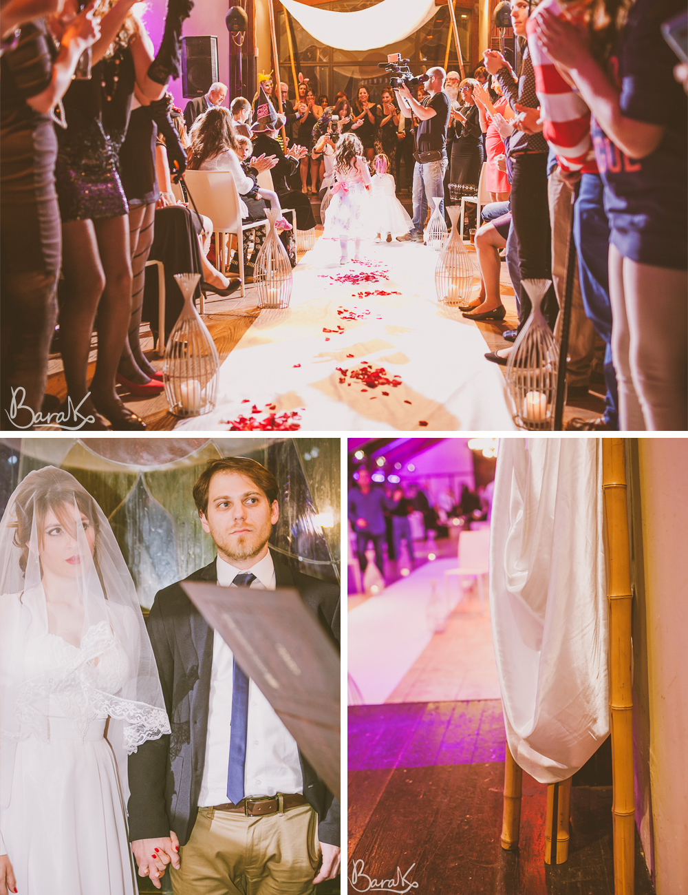 Fancy dress Jewish wedding at Bikta Bayar Carmel Forest Israel