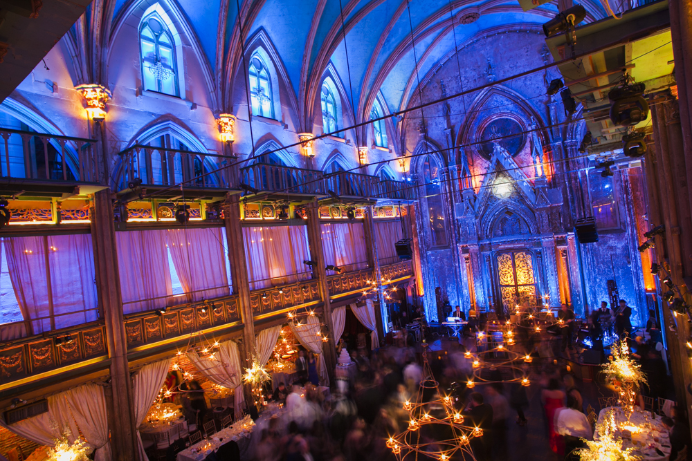 Jewish wedding at the Angel Orensanz Foundation New York City
