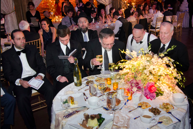 Jewish wedding at the Angel Orensanz Foundation New York City 1