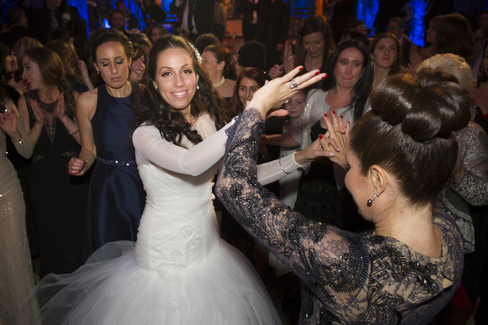 Jewish wedding at the Angel Orensanz Foundation New York City 39