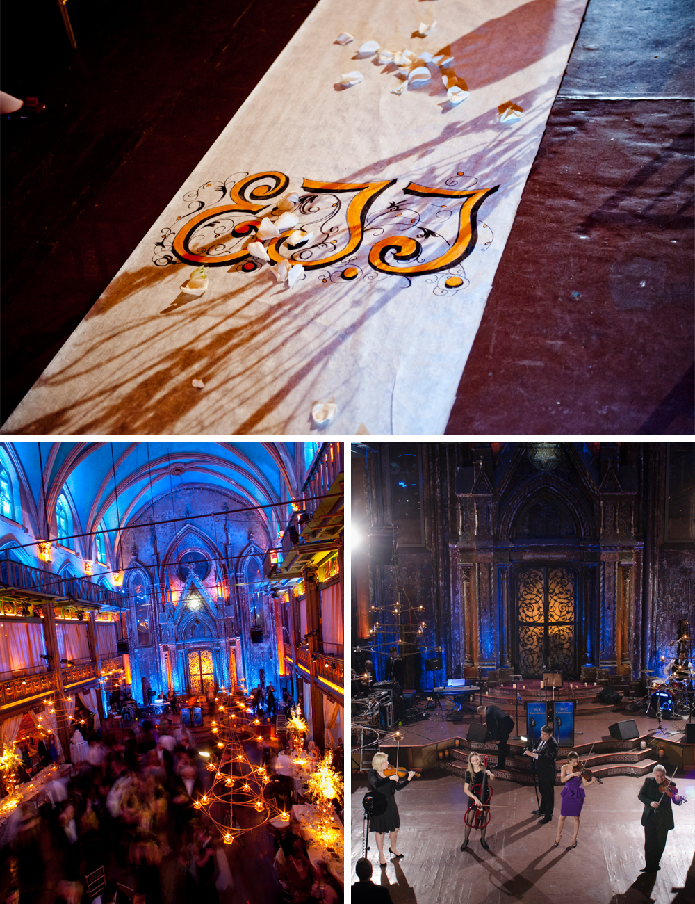 Jewish wedding at the Angel Orensanz Foundation New York City B