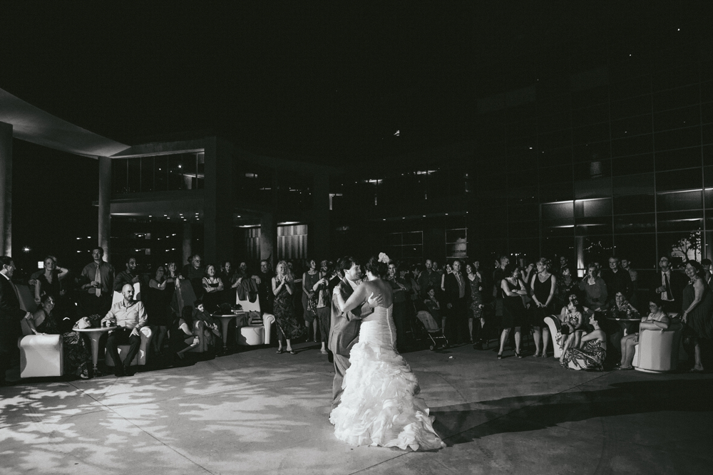 Jewish wedding at The Long Center Austin Texas USA 20