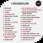Get involved with #JewishBridesJune !