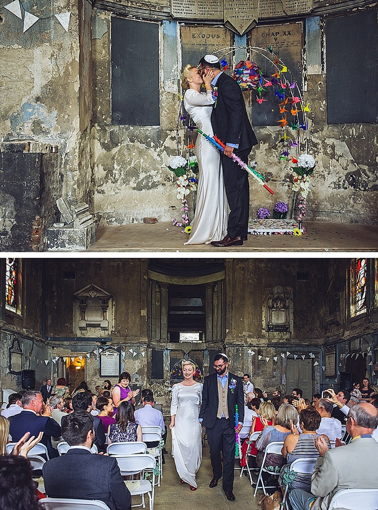Colourful London wedding at Asylum Arts and The Big Red Pizza Bus_0108