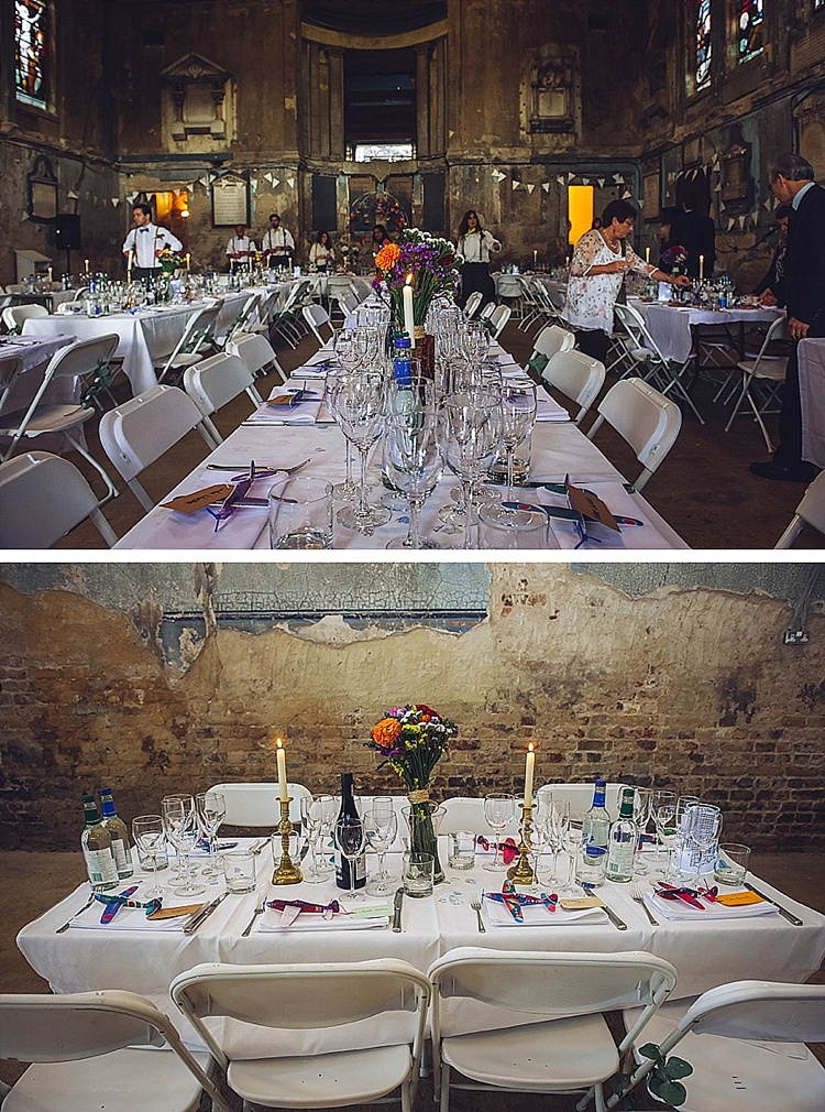 Colourful London wedding at Asylum Arts and The Big Red Pizza Bus_0131