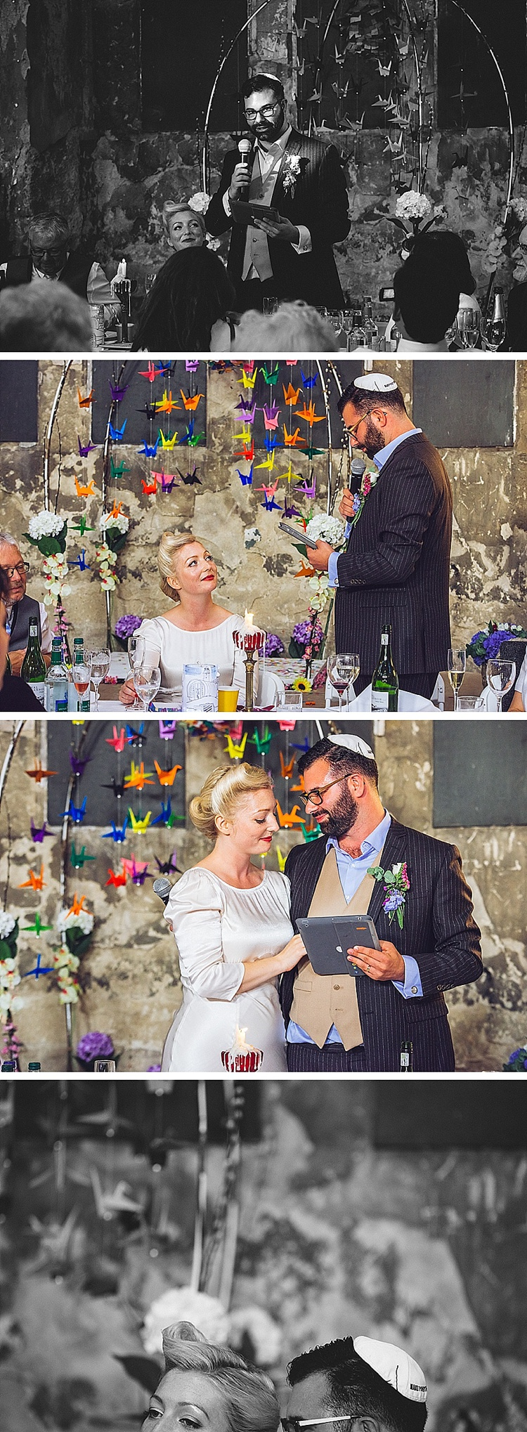 Colourful London wedding at Asylum Arts and The Big Red Pizza Bus_0127