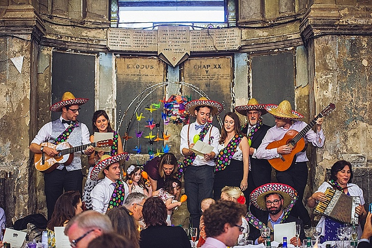 Colourful London wedding at Asylum Arts and The Big Red Pizza Bus_0129