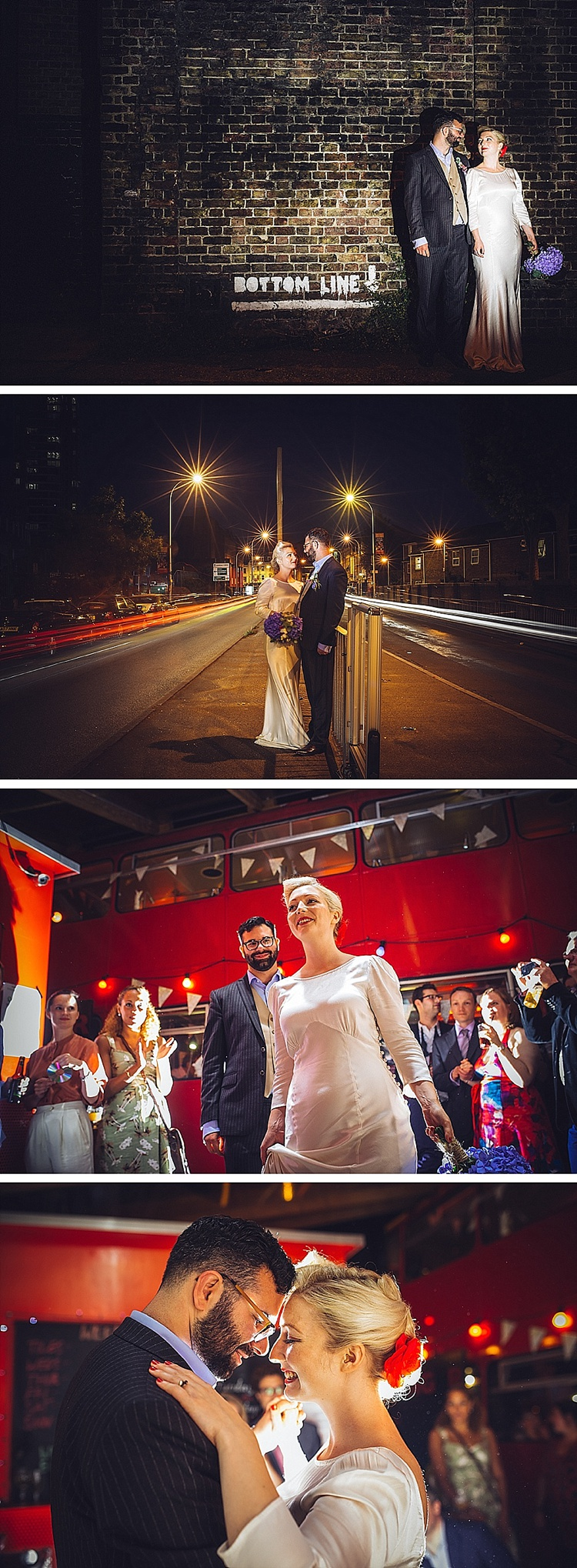 Colourful London wedding at Asylum Arts and The Big Red Pizza Bus_0133