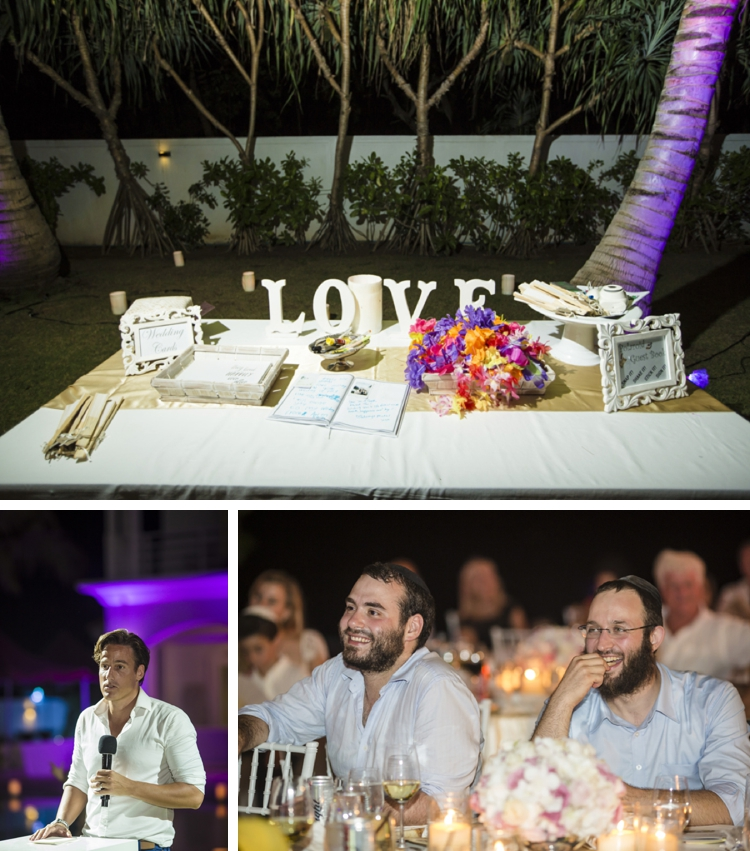 Jewish beach wedding + pool party at Grand Satis Villa, Phang Nga Bay, Thailand_0170
