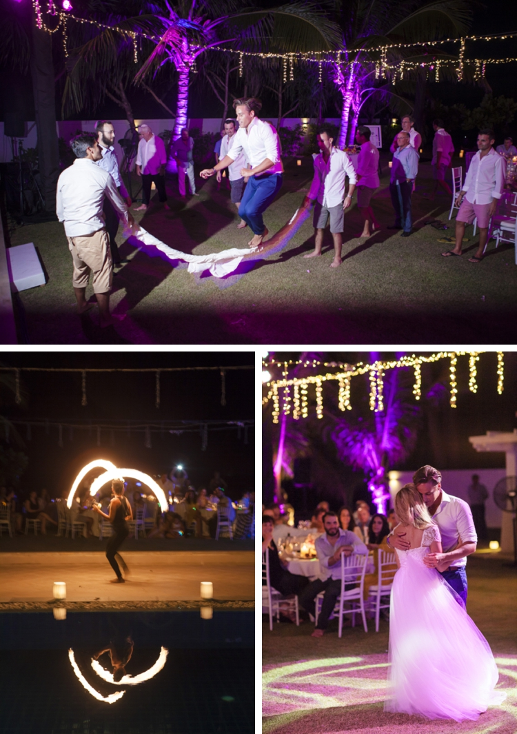 Jewish beach wedding + pool party at Grand Satis Villa, Phang Nga Bay, Thailand_0172