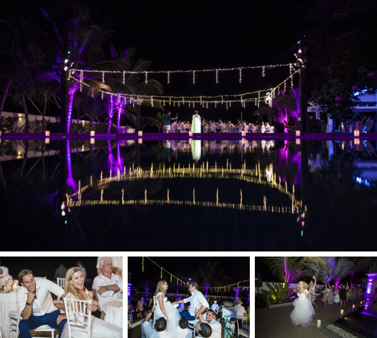 Jewish beach wedding + pool party at Grand Satis Villa, Phang Nga Bay, Thailand_0174