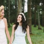 Natalie & Nicole | àœber-creative rustic 'Barn Eccentric' Lesbian Jewish Wedding at Sydney Polo Club, Australia