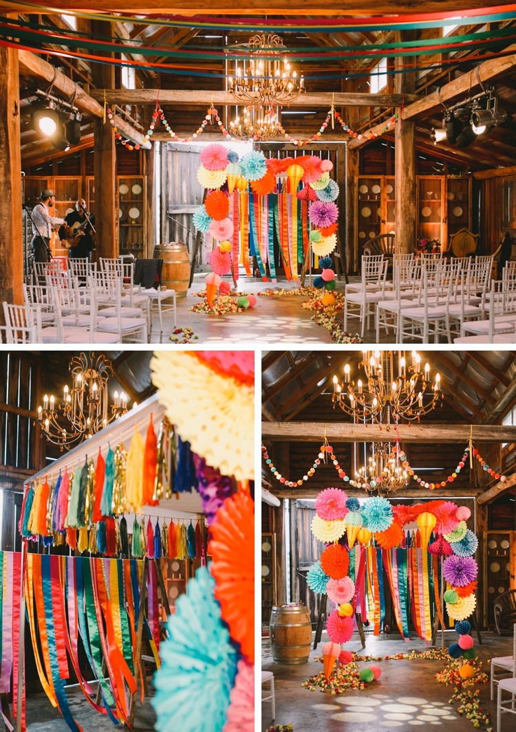 creative 'colour explosion' Jewish wedding at the Sydney Polo Club, NSW, Australia