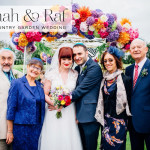 Hannah & Raf | Laidback, colourful 'English Garden' Jewish wedding at The Priory Barn, Little Wymondley, UK