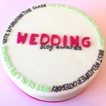 Can I have the Wedding Blog Award cake and eat it?