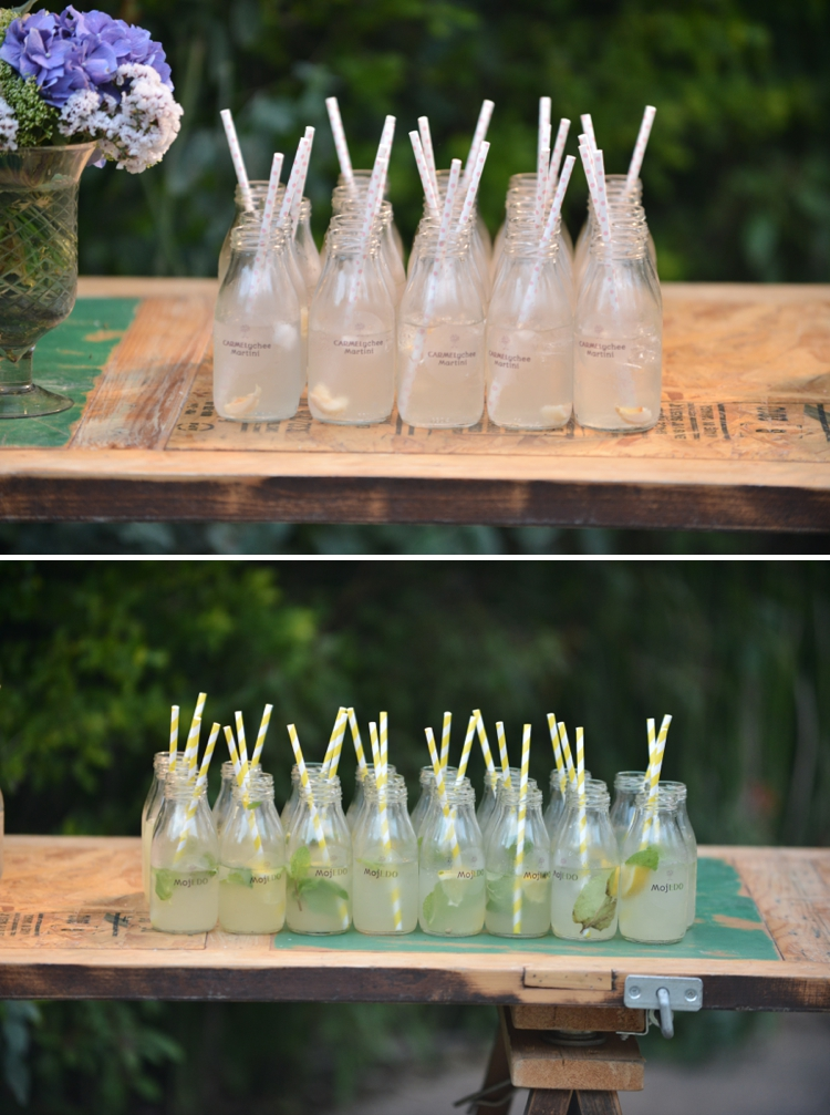 personalised wedding cocktails