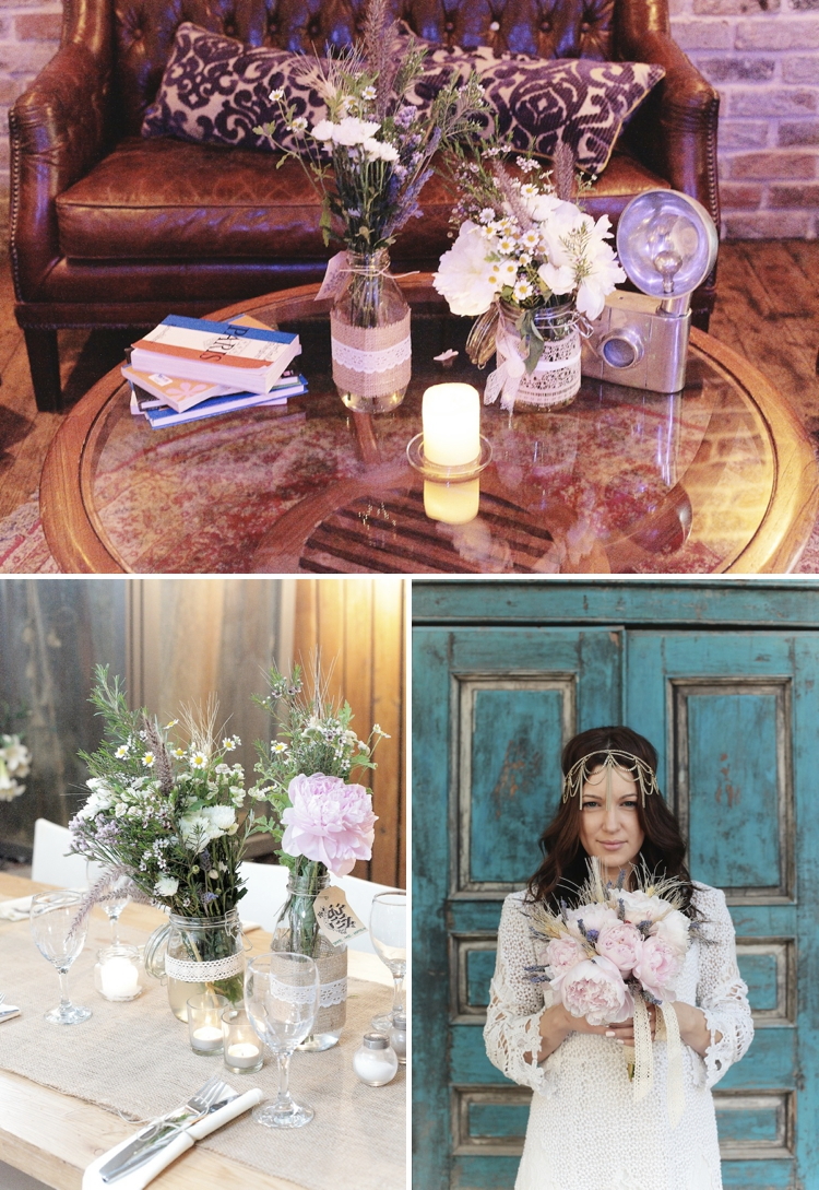 Hand-crafted, rustic, bohemian 'Instagram' Israeli wedding at Duce Villa, Tel Aviv