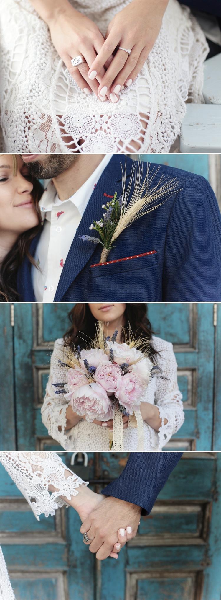 Hand-crafted, rustic, bohemian 'Instagram' Israeli wedding at Duce Villa, Tel Aviv