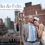Claudia & Felix | Ãœber-stylish and creative urban Jewish wedding with a rustic twist, Studio 450, New York City