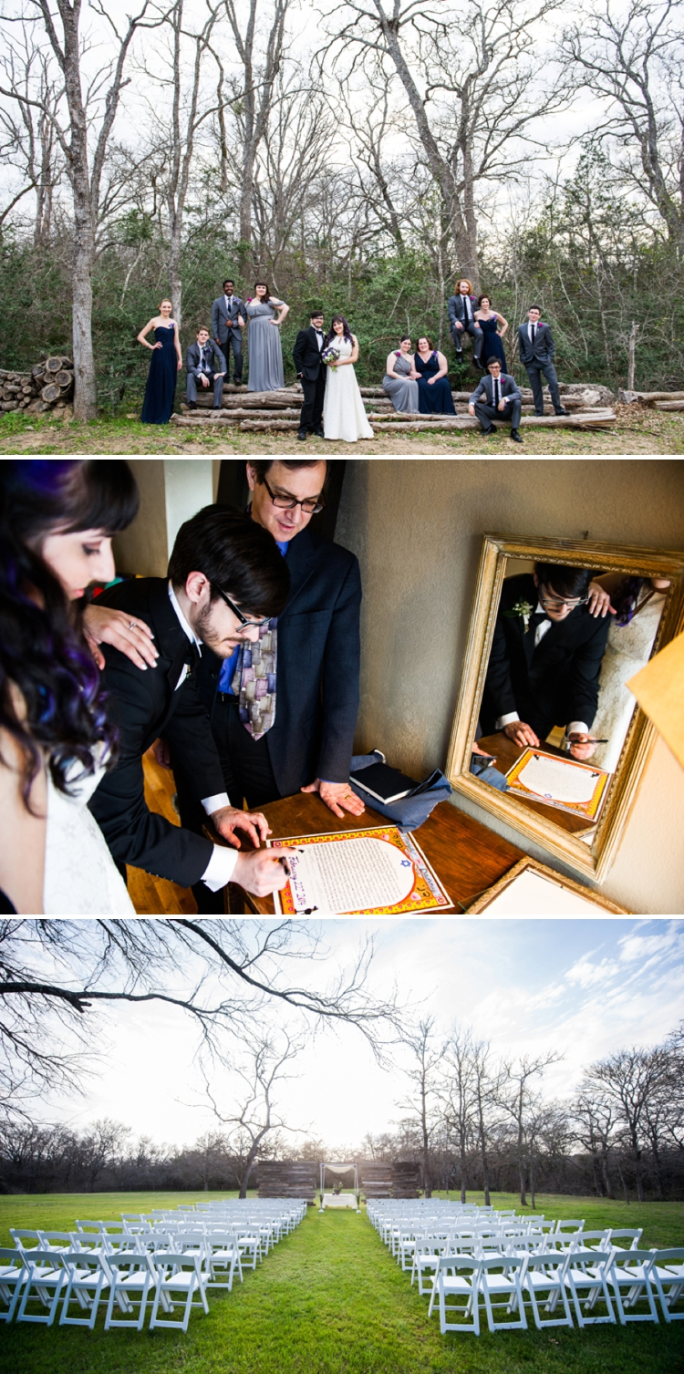 Outdoor DIY Garden Jewish Wedding at Cedar Bend Events, Austin, Texas_0058