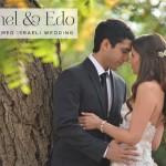 Carmel & Edo   Forest theme rustic Jewish wedding at Baya'ar Hadera, Israel