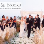 Tory & Brooks   Beachside Autumn Jewish wedding at Bel Air Bay Club, California, USA