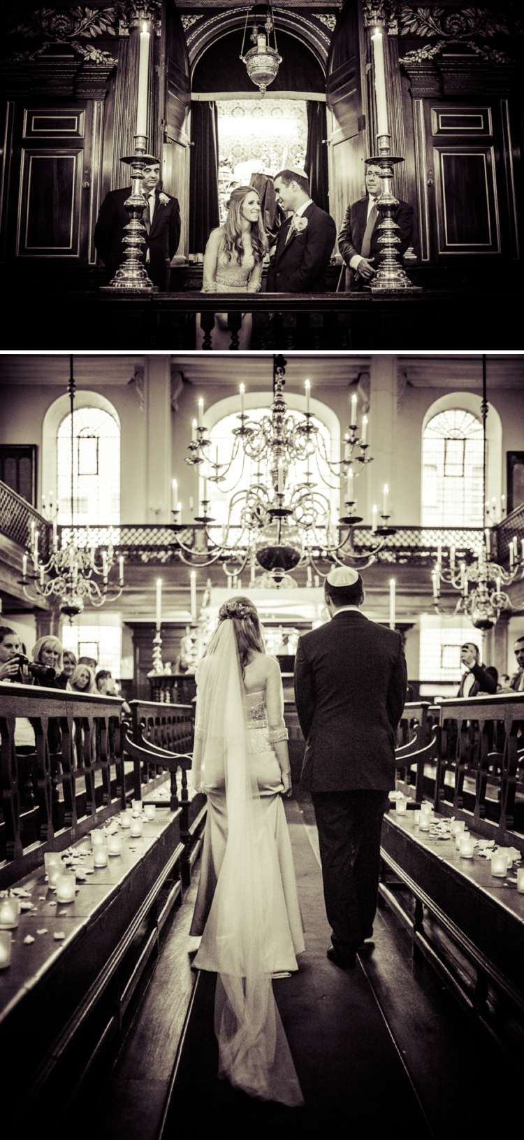 Jewish wedding at Bevis Marks Synagogue and The Shangri-La At The Shard London