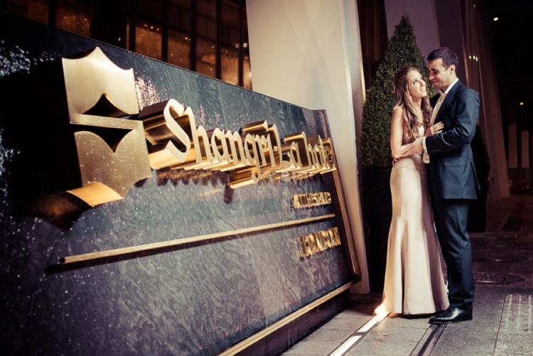 Jewish wedding at Bevis Marks Synagogue and The Shangri-La At The Shard London