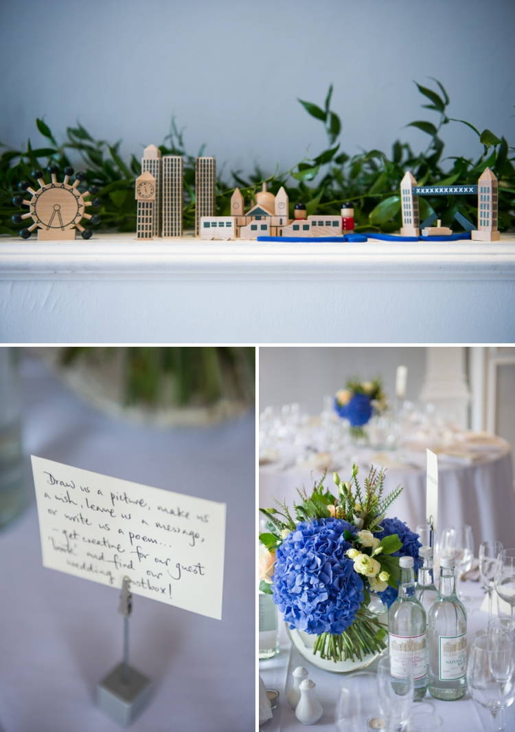 London-themed contemporary cool Jewish wedding at The ICA (Institute of Contemporary Arts), London